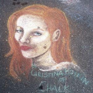 RAM - Chalk Art