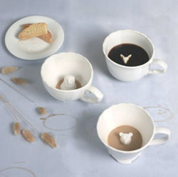 Hidden Animal tea cups