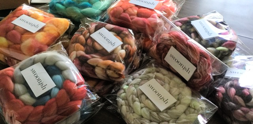 Swoonish fibers all packaged up!