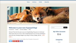 Banner at blog width