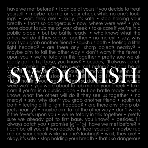 Swoonish - new hang tags