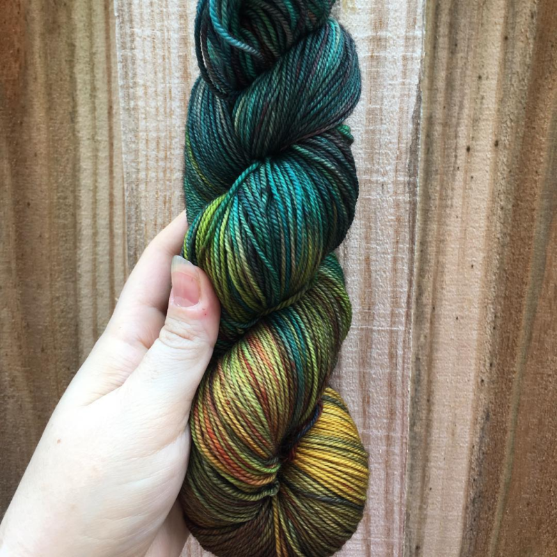 June Yarn Club - Summer Evenings of Longing and Fireflies
